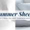 Cooling sheets for a great summer nights sleep