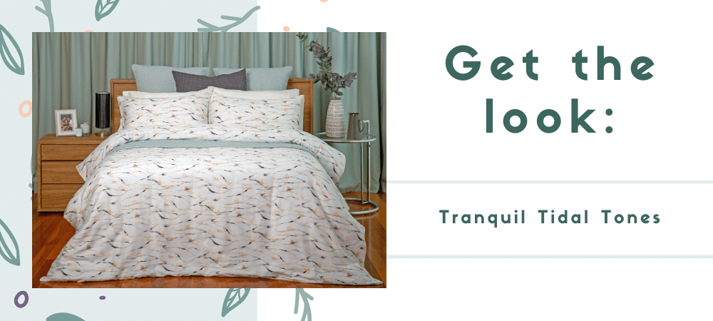 Get the look: Tranquil Tidal Tones