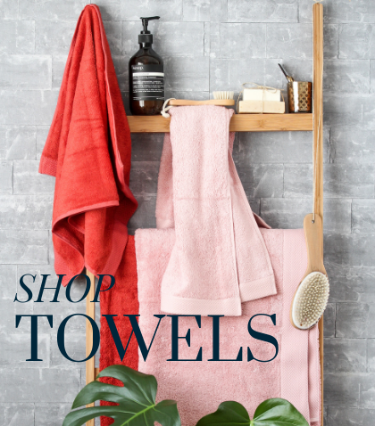 Our beautiful range of Towels