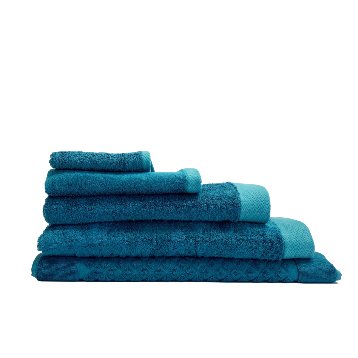 Bamboo Towels - Teal